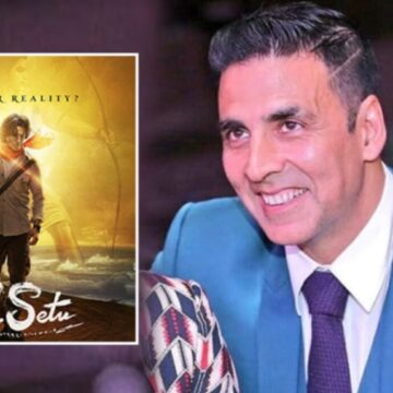 अब फिल्म 'राम सेतु' में नजर आएंगे अक्षय कुमार, दिवाली पर फर्स्ट लुक किया शेयर
