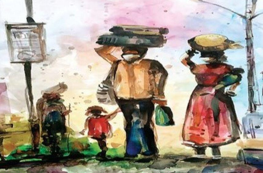 मजदूरों और कोरोना पर गुलज़ार की नज़्में- मिलेंगे तो वहां जाकर, जहां जिंदगी है