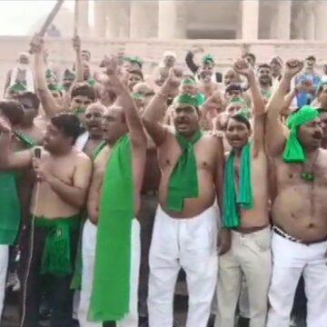 किसानों ने नोएडा से दिल्ली के लिए किया कूच, कालिंदी कुंज में रोकने की तैयारी