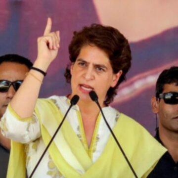 प्रियंका गांधी बोलीं- मोदी इंचार्ज हैं नेहरू नहीं, PM को सभी की रक्षा करनी चाहिए