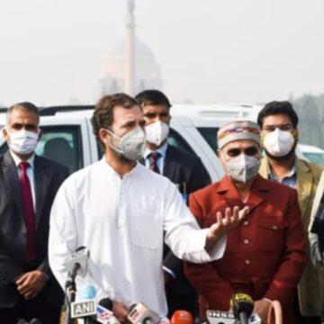 ट्रैक्टर रैली बवाल पर राहुल गांधी बोले- हिंसा किसी समस्या का समाधान नहीं