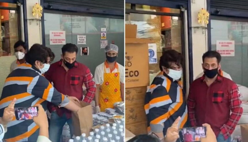 सलमान खान ने फिर दिखाई दरियादिली, कोरोना संकट में फ्रंटलाइन वर्कर्स को पहुंचा रहे खाना