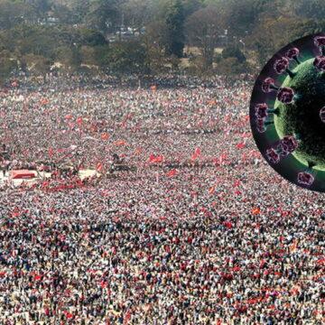 पश्चिम बंगाल चुनावी रैली का प्रकोप, टेस्ट करवा रहा हर दूसरा व्यक्ति निकल रहा पॉजिटिव