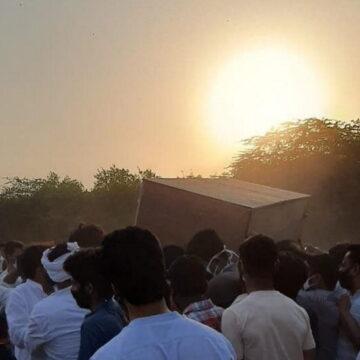 दिल्ली गेट कब्रिस्तान में सपुर्द-ए-खाक हुए मोहम्मद शहाबुद्दीन