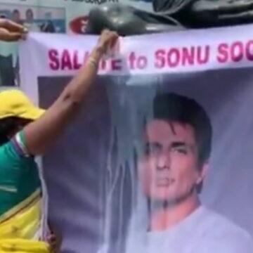 सोनू सूद की अपील, कहा- मेरे पोस्टर पर दूध चढ़ाने के बजाए, उसे जरूरतमंदों को दें