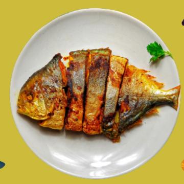 मछली खाने के शौकीन हैं तो ट्राई करें तंदूरी पॉम्फ्रेट फिश फ्राई, जानें रेसिपी