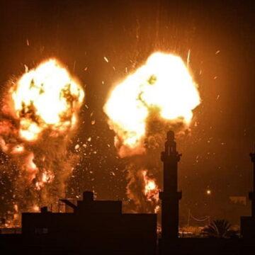 इस्राइल ने फिर किया गाजा पर हमला, कई फिलिस्तीनी नागरिक जख्मी