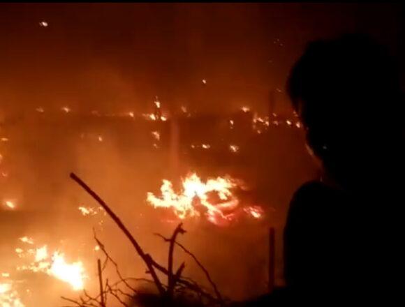 कालिंदी कुंज रोहिंग्या कैम्प में लगी आग, 53 झोपड़ियां जलकर खाक, 270 लोग हुए बेघर