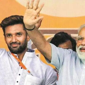 चिराग पासवान क्या BJP में शामिल होने वाले हैं? मोदी के करीबी से मुलाकात