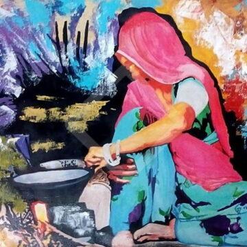 विनोद कुमार राज 'विद्रोही' की 3 कविताएं: भूख का इतिहास, आओ बचाएं और गांव की औरतें