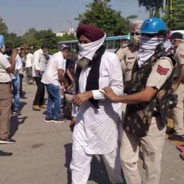 100 किसानों के खिलाफ राजद्रोह का केस, 5 को हरियाणा पुलिस ने किया गिरफ्तार