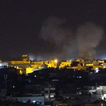 इस्राइल ने एक बार फिर किया फिलिस्तीनी क्षेत्र गाज़ा पर हमला