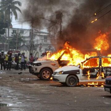 त्रिपुरा में फिर भड़की हिंसा, दर्जनों गाड़ियां और बिल्डिंग आग के हवाले, BJP पर आरोप