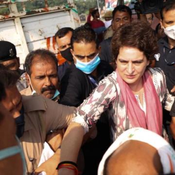 प्रियंका गांधी को उत्तर प्रदेश पुलिस ने एक बार फिर हिरासत में लिया, जानें पूरा मामला