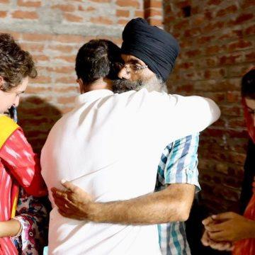 राहुल-प्रियंका का लखीमपुर में पीड़ित परिवार से मुलाकात, रॉबर्ट वाड्रा ने कही ये बात