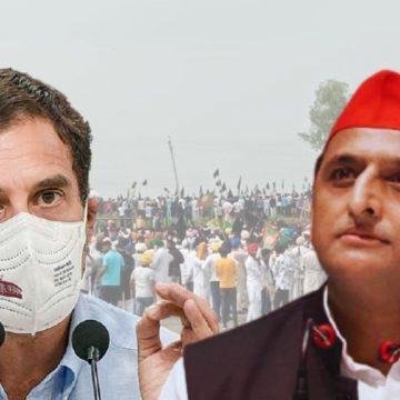 लखीमपुर: किसानों के मौत संख्या हुई 5, राहुल गांधी ने घटना को बताया नरसंहार