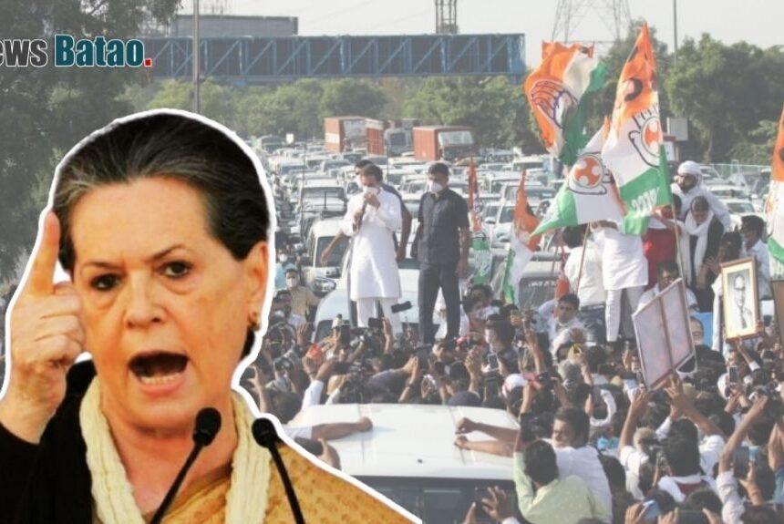 सोनिया गांधी का कांग्रेस नेताओं को आदेश, कहा- BJP और RSS के झूठ को बेनकाब करो