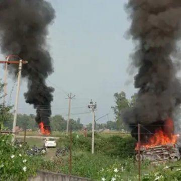 डिप्टी CM केशव प्रसाद मौर्य के काफिले ने किसानों को रौंदा, 3 की मौत 8 घायल
